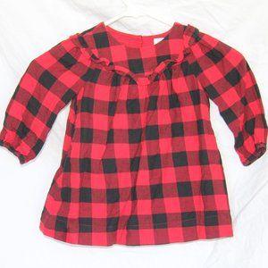 Baby Gap Buffalo Plaid Check 18-24 MO Dress